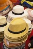 Straw Hats Fotografering för Bildbyråer