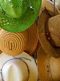 Straw Hats Royalty Free Stock Photo