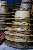 Straw Hats Imagenes de archivo