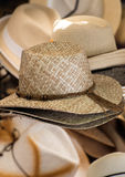 Straw Hats Photographie stock