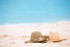 Straw Hats Royalty Free Stock Images