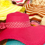 Straw hats Royalty Free Stock Photography