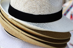 Straw hats Royalty Free Stock Photos