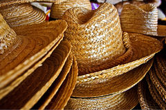 Straw hats 5 Royalty Free Stock Images