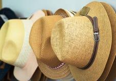 Straw hats. Stock Photo