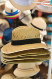 Straw hats. Royalty Free Stock Photography