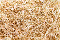 Straw. Hay. Background of scattered straw. View from above. Hayloft closeup Stock Photos
