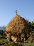 Straw hay in nepal royalty free stock images