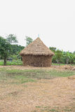Straw house , village hut Stock Images