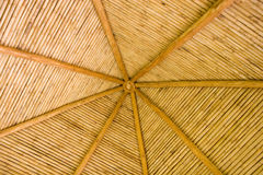 Straw Hut Bamboo Roof Royalty Free Stock Image