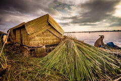 Straw hut Royalty Free Stock Image