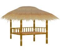 Straw hut. Vector design vector illustration