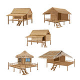 Straw hut Royalty Free Stock Images