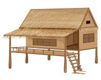 Straw hut Royalty Free Stock Photo