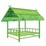 Straw hut Stock Image