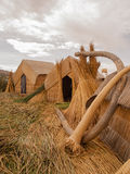 Straw Huts Royalty Free Stock Images