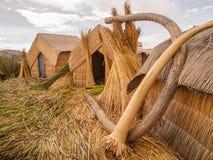 Straw Huts Royalty Free Stock Photo