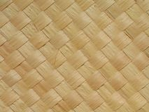 Straw mat - 1. Close-up view of a straw mat made from carnauba palm. The carnauba tree (Copernicia prunifera) is endemic to Northeast Brazil and is known as tree royalty free stock photo