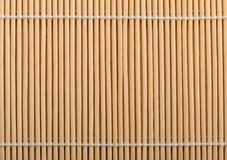 Straw mat. Bamboo stick straw mat texture background Royalty Free Stock Photography
