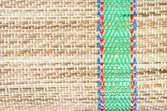 Straw mat Royalty Free Stock Photo