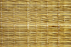 Straw Mat Texture Royalty Free Stock Photography