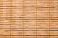 Straw mat texture Stock Images