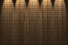 Straw mat wall Royalty Free Stock Photography
