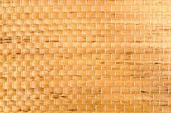 Straw Meditation Mat Texture Imágenes de archivo libres de regalías