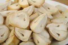 Straw Mushroom imagem de stock