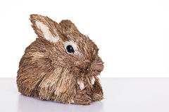 Straw rabbit Stock Photos