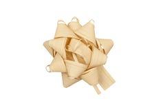 Straw ribbon. Royalty Free Stock Photo