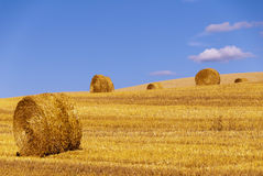 Straw roll Royalty Free Stock Images