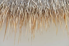 Straw roof Royalty Free Stock Photos
