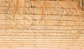 Straw Roof Images stock