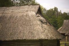 Straw Roof stock foto's