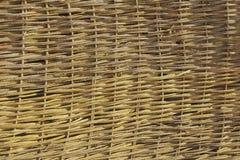 Straw Roof Texture stock photo
