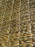 Straw roof texture. Royalty Free Stock Photography