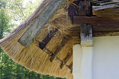 Straw roof Royalty Free Stock Photography