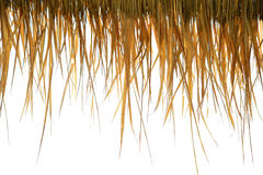 Straw roof Royalty Free Stock Images