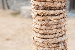Straw rope Stock Images