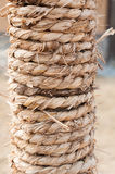 Straw rope Stock Photo