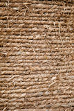 Straw rope background Royalty Free Stock Photo