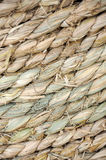 Straw rope texture. Detail of a straw rope texture stock photography