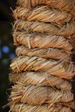 Straw ropes Royalty Free Stock Photography
