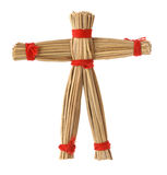 Straw Scarecrow Doll Royalty Free Stock Images