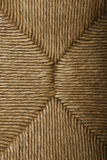Straw seat texture Stock Photography