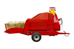 Straw shredder Royalty Free Stock Images