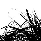 Straw silhouette for your design Royalty Free Stock Image