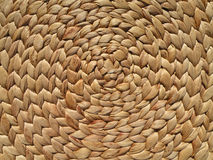 Straw Spiral Background stock image