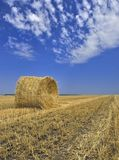 Straw stack Stock Photos